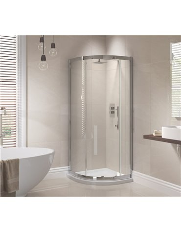 Frontline Prestige 800 x 800mm 1 Door Quadrant Enclosure