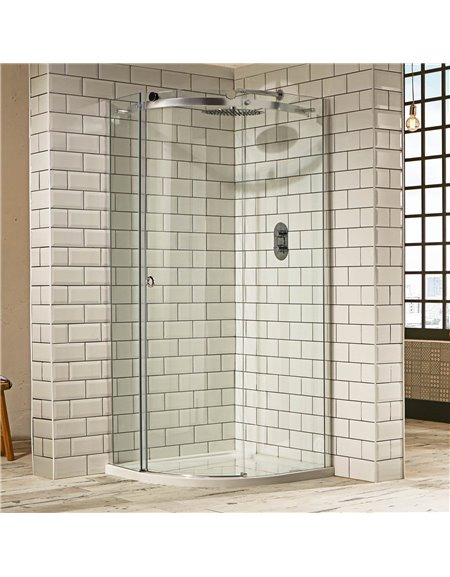 Frontline Aquaglass+ Sphere 800 x 800mm 1 Door Quadrant Enclosure